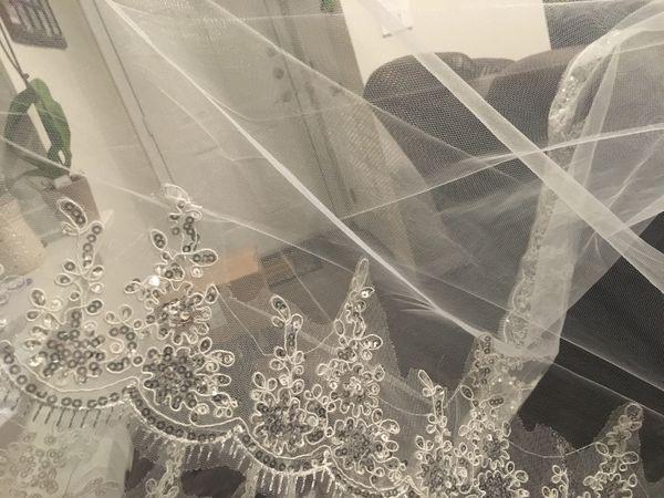 Wedding veil, 9ft, ivory