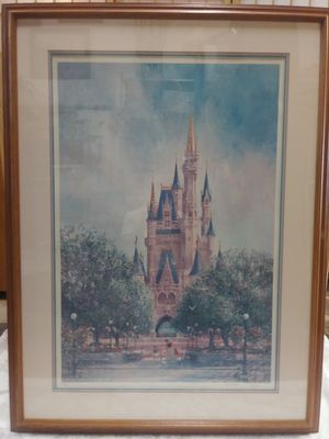 Framed Disney Snow White Lithograph signed H.R. Russell for Sale in Henderson, CO