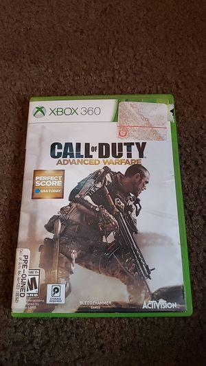 Call of Duty Advanced Warfare Xbox360 for Sale in Chandler, AZ
