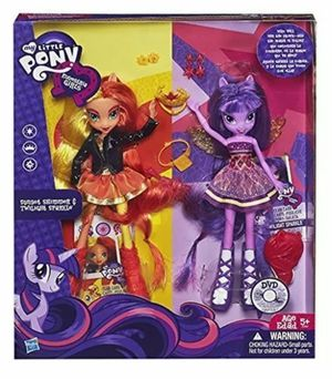 My Little Pony Equestria Girls 2 Doll Box for Sale in Miami, FL