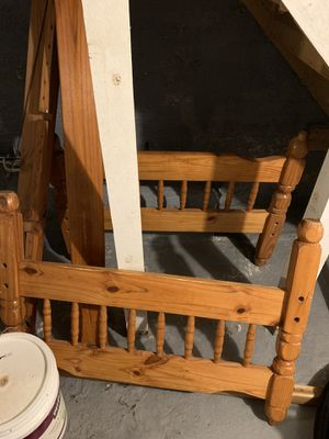 Twin size bed frame for Sale in Baltimore, MD
