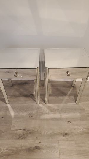 Two accent tables (FREE). Glass needs to be repaired/replaced. for Sale in Newark, CA