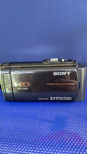 Sony HD video camera for Sale in Pompano Beach, FL