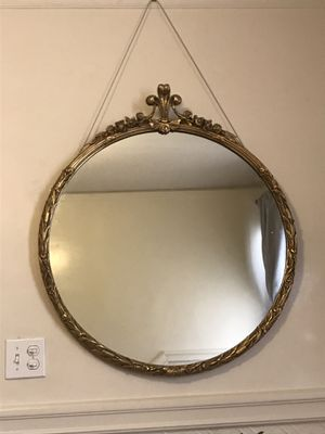 Traditional gold framed mirror for Sale in San Francisco, CA