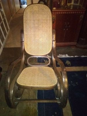 Rattan and wicker rocker for Sale in Paragould, AR