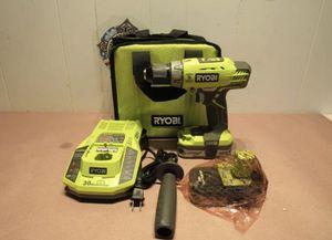 RYOBI 18-Volt Cordless 1/2 in. Hammer Drill/Driver Kit for Sale in St. Petersburg, FL