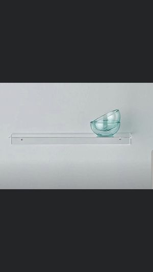 2 clear acrylic shelves for Sale in Washington, DC