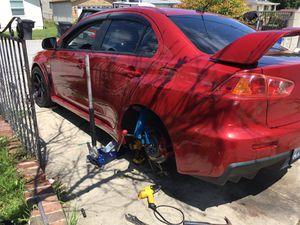 Roll fenders fender bumper tires wheels rims rim 5 4 lugs HONDA ACURA CADDILAC BMW MERCEDES BENZ MIATA MAZDA EVO LEXUS TOYOTA Scion for Sale in Chino Hills, CA