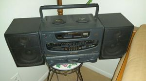 JVC Hyper-Bass Sound CD player tape cassette Radio for Sale in Southfield, MI