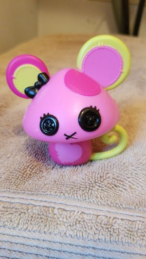 """Lalaloopsy big doll pet mouse 3"""" tall, One ear is Pink and light green for Sale in Riverside, CA"""