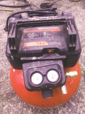 Craftsman Air Compressor & Two Nail Guns for Sale in Brandon, FL