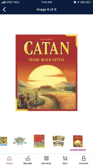 Catan Strategy Board Game: 5th Edition for Sale in Philadelphia, PA