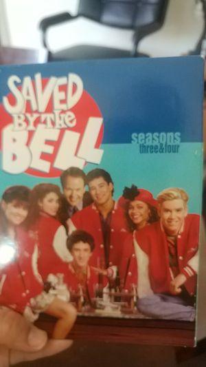 Saved by the Bell DVD Seasons 3 & 4 for Sale in Spokane, WA