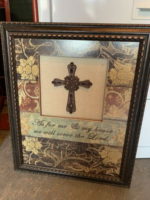 Christian wall frame with verse for Sale in Covington, WA