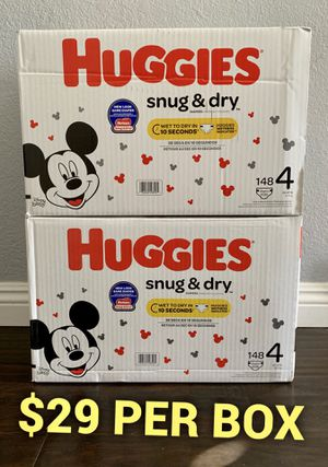Huggies Diapers size 4 for Sale in Long Beach, CA
