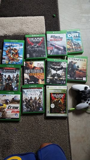Xbox games and wierd controller for Sale in Haven, KS