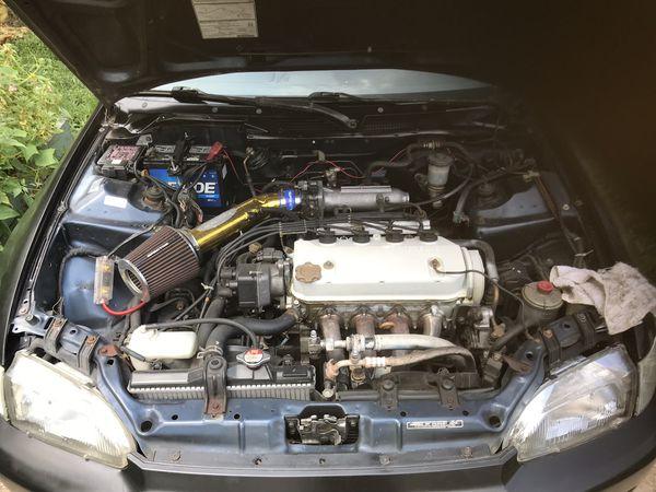 Honda Civic hatch back EG '95 & RIMS