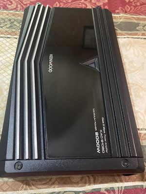 Kenwood KAC-9106D 2000 Watts Peak/1000 Watts RMS Mono Block Class D Car Amplifier with Speaker Level Inputs for Sale in Mesquite, TX
