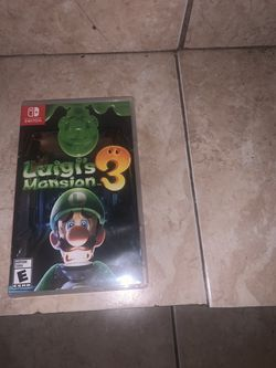 Luigi's Mansion 3 for Nintendo Switch *DEAL* for Sale in South Miami,  FL