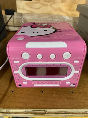 Hello Kitty radio/ cd. for Sale in St. Charles, IL