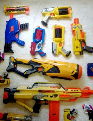 Nerf Guns As Is Must Take All Some Untested for Sale in Baltimore, MD