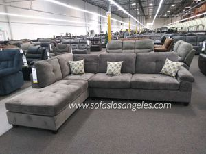 Charcoal grey sofa sectional couch for Sale in Downey, CA