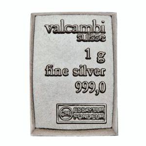 1 Gram Valcambi Suisse Silver Bullion for Sale in Wenatchee, WA
