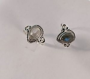 Moonstone Labradorite 925 silver ring for Sale in Pflugerville, TX