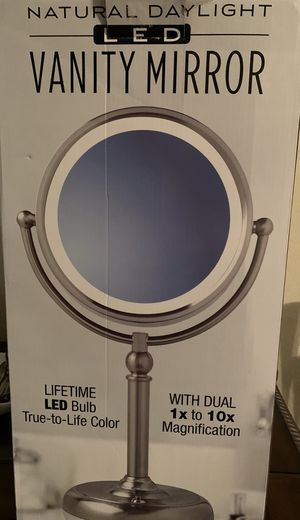 Sunter Natural Daylight Vanity Makeup Mirror for Sale in Sebring, FL