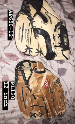$10 Each Baseball gloves for Sale in Los Angeles, CA