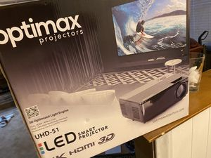 Optimax UHD-51 4K Projector for Sale in Carrollton, TX