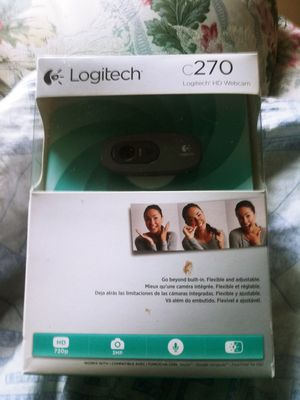 Brandnew logitech web cam never been opened for Sale in Springfield, MA