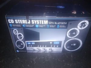 Stereo System W/Bluetooth for Sale in Fall River, MA