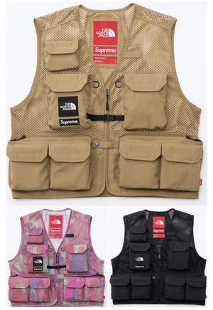 Supreme x TNF Cargo Vest - Black - Large for Sale in Tempe, AZ
