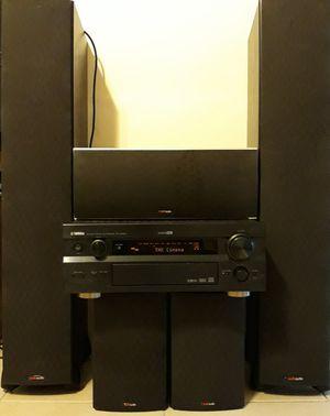 Yamaha & Polk Audio Surround Sound Set for Sale in Port St. Lucie, FL