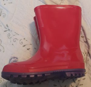 Pink Rain Boots- Toddler Girl Size 7-8 for Sale in Accokeek, MD