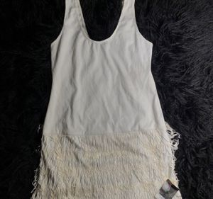 White Fringe Dress for Sale in Washington, DC