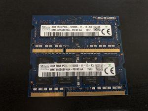 Hynix 12 GB SO DDR3 RAM for Sale in Orange, CA