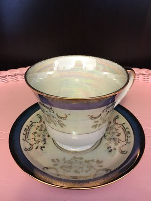 Rare C7120 (China) vintage tea cup and saucer for Sale in Cornelius, OR