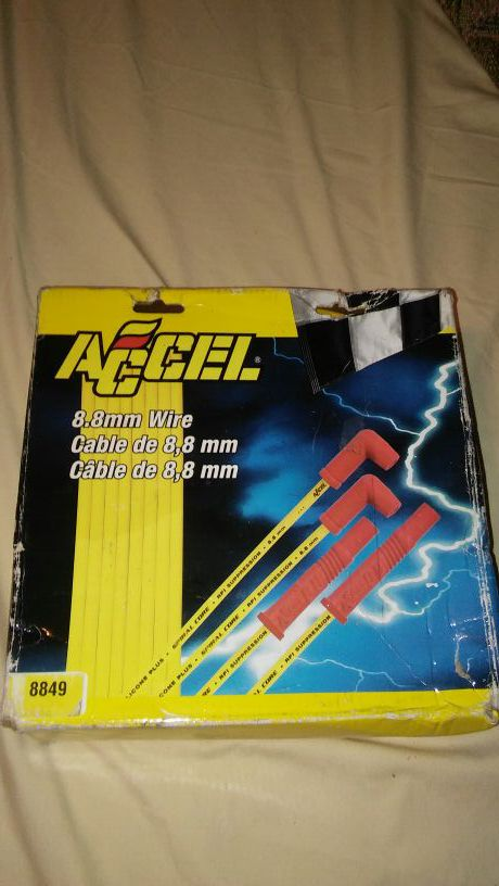 Brand new ACCELL 8.8 mm wires