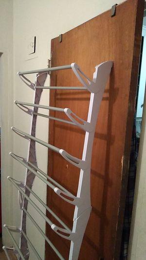 Door. Shoe. Rack. 12 shelfs 3 pair a shelf for Sale in Queens, NY