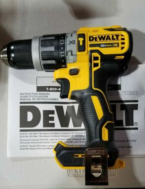 DEWALT DCD996B BARE TOOL 20V MAX XR LITHIUM ION BRUSHLESS 3-SPEED HAMMER DRILL (TOOL ONLY) for Sale in Berwyn, IL
