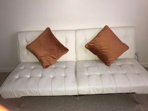 Leather futon for Sale in Staten Island, NY