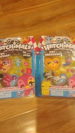 2 sets of hatchimals for Sale in Hacienda Heights, CA