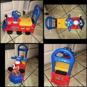 $13 Disney Mickey Mouse ride on train for Sale in Rosemead, CA