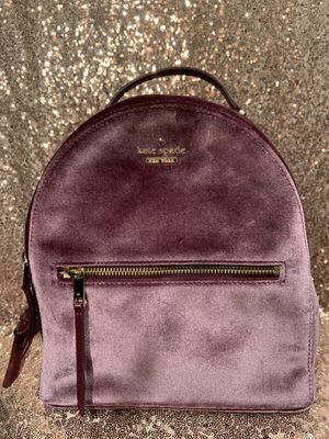 Kate Spade Dawn Place Velvet Sammi Backpack for Sale in Waterbury, CT