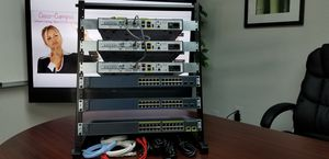 Latest IOS 15.7 Cisco CCNA v3.0 and CCNP v2.0 LAB KIT CISCO1921 for Sale in Plano, TX