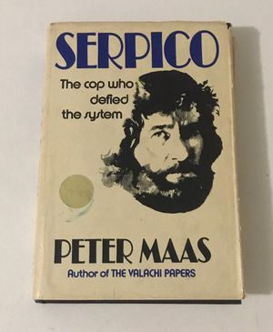 Serpico Hardcover Book Peter Maas 1973 for Sale in Port St. Lucie, FL