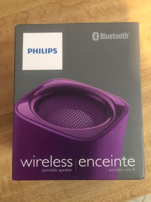 Brand new Philips wireless Bluetooth portable speaker (pick up only) for Sale in Alexandria, VA