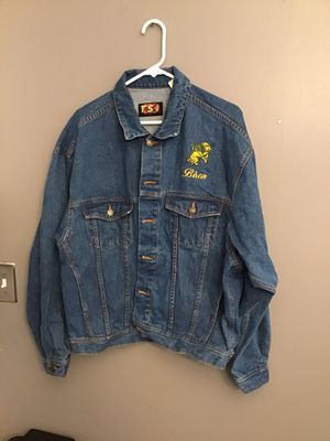 North Dakota State University Bison 1990's Denim Jean Jacket for Sale in Goodlettsville, TN